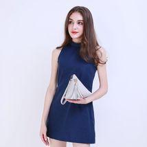 Mini Tassel Clutch Leather Bag Purse Women Handbag Vogue Triangular Shap... - $17.68 CAD