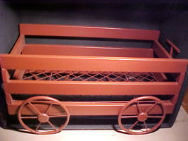 METAL WAGON HOME DÉCOR-Magazines,Plants,Stuffed Toys,Landscape/Garden Ar... - $24.99