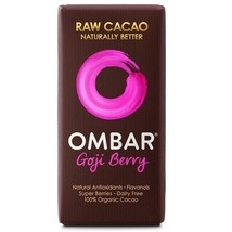 Ombar Goji Berry Raw Chocolate Bar 35g - $6.64