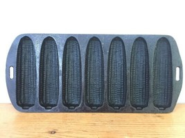 Vintage Lodge No 27C Cast Iron Cornbread 7 Ears of Corn Shaped Muffin Baking Pan - $1,000.00
