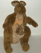 1/2 Price! Vintage Sun & Star Co Japan Plush Kangaroo and Joey - $8.00