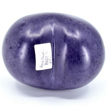 Vaneal Group Hand Carved Soapstone Whine/Wine 2-Sided Purple Heart Paperweight image 3