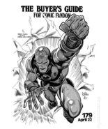 The Comics Buyer's Guide for Comic Fandom #179 Iron Man Marvel Comics 1977 - $6.95