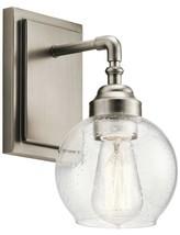 Kichler 45590AP Niles Wall Sconce, 1 Light, 100 Watt, Antique Pewter - $49.49