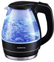 Ovente 1.5 Liter BPA Free Glass Cordless Electric Kettle, Black (KG83B) - $24.78