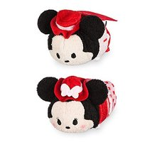Disney Mickey and Minnie Mouse ''Tsum Tsum'' Plush Valentine's Day 2017 Set - Mi - $11.86