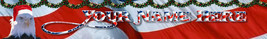 Eagle Santa Hat Christmas in July Custom Designed Web Banner 136a - $7.00