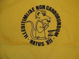 "Vintage Ratus VII Latin ""Don't Let the Bastards Grind You Down"" T Shirt S - $19.79"