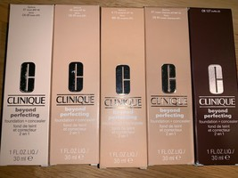 Clinique Beyond Perfecting Foundation + Concealer Choose your shade. - $25.73+