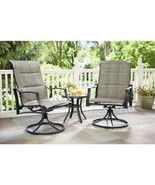 Statesville Padded Sling Patio Lounge Swivel Chairs (2-Pack) - $270.00