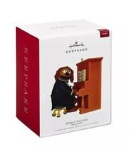 HALLMARK 2018 Ornament ROWLF THE DOG The Muppets NEW Magic Sound SHIP FREE - $49.99