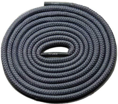 "Primary image for 54"" Dark Grey 3/16 Round Thick Shoelace For All Kid's Shoes"