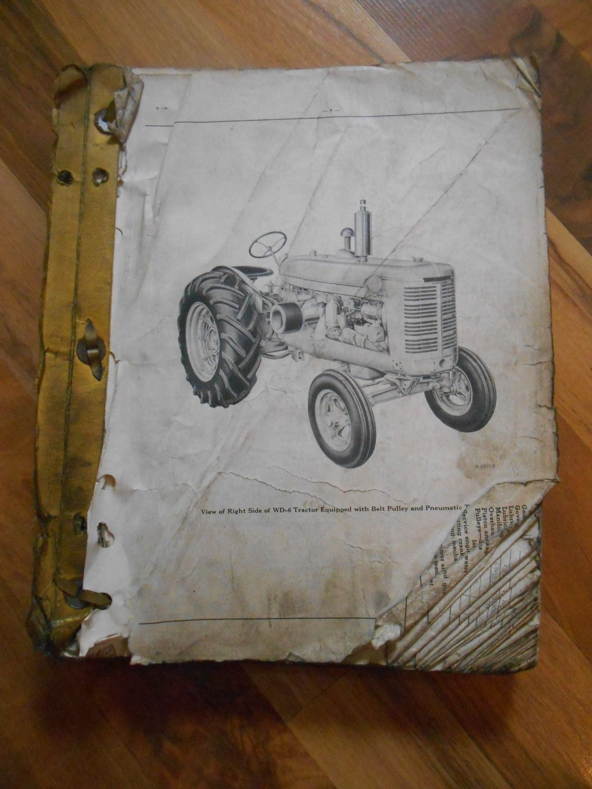 Old Vintage TC-33D Tractor Parts Catalog W-6 and 50 similar