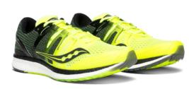 Saucony Liberty ISO Size US 9 M (D) EU 42.5 Men's Running Shoes Citron S... - £67.53 GBP