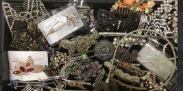 Lot 62 Hair Accessories Clip Barrette Headband Ponytail Ornament Pin Women image 1