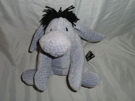 Vintage The Disney Store Stuffed Plush Chenille Winnie The Pooh Eeyore D... - $59.39