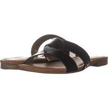 Circus Sam Edelman Clover Slide Sandals 853, Black, 7.5 US / 37.5 EU - $20.15