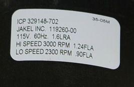 Jakel 119260-00 Draft Inducer Blower Motor OEM Part 115 Volt image 6