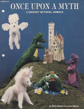 Once Upon a Myth, Hot Off The Press Crochet Pattern HOTP-312 Pegasus Dra... - $6.95