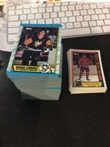 1989-90 Topps Hockey - Complete Set (198) Nhl Cards ! Sakic (Rc) ! Gretzky ! - $72.46