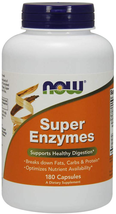 NOW Foods Supplements, Super Enzymes, Formulated with Bromelain, Ox Bile, Pancre - $24.74