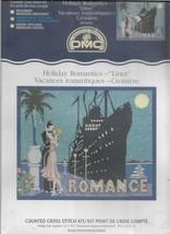 Cross Stitch Pattern Kit-Creative World DMC-ROMANCE-Holiday Romantic Liner - $13.06