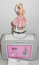 BARBIE HINGED BOX SLIPPERS INSIDE CERTIFICATE OF AUTHENTICITY SUGAR PLUM... - $24.75