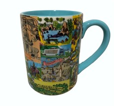 Disney Parks Retro Magical Kingdom Attractions Map Coffee Mug - $59.37