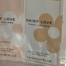 3 Piece Lot MARC JACOBS DAISY LOVE 1.2mL (3.6 mL Total) image 3