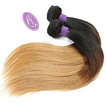 Cranberry Hair Ombre Brazilian Virgin Hair Straight Hair Weave 24inch Bundle Thr image 2