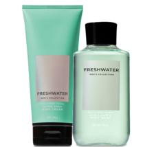 BATH & BODY WORKS Freshwater Body Cream & 2-In-1 Hair + Body Wash Set Fo... - $27.53