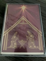 Hallmark Religious Boxed Christmas Cards, Nativity Scene (16 Cards & 17 Envelope - $8.78