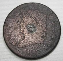 1812 Classic Head Large Cent AG Coin AE955 - $53.15