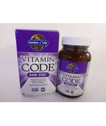 Garden Of Life Vitamin Code Raw Zinc 60 Vegan Capsules {VS-G} - $13.06