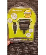 IOGEAR GUC1284B USB TO PARALLEL PRINTER CABLE BRAND NEW FACTORY SEALED - $10.00
