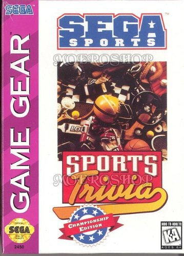 Primary image for Sports Trivia [video game]