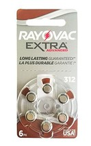 Rayovac Extra Advanced, size 312 Hearing Aid Battery pack 60 pcs - $19.91