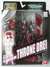 BANDAI GUNDAM 00 figure Throne drei mobile suit in action GNW-003 From japan - $74.79