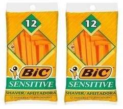 BIC Sensitive Shavers - 2 x Packs of 12 = 24 total NEW - $8.80