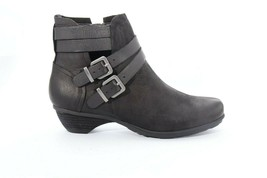Abeo Women's Nadia Booties Black Size US 7  Neutral Footbed  ()4999 - $100.00