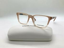 Calvin Klein CK 19506 681 CRYSTAL BLUSH/PEACH Eyeglasses Frames 51-17-13... - $43.62