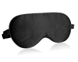BlueBeach Pure Silk Travel Eye Mask Sleeping Blindfold Eyeshade for Comf... - $14.77 CAD