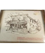 """Paragon Needlecraft """"THE GENERAL STORE"""" Needlework Kit Includes Frame 04... - $14.99"""