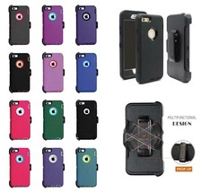 iPhone SE 5S 6 6S Shockproof Rugged Case Cover(Fits Otterbox Defender Belt Clip) - $10.00