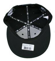 Famous Stars & Straps x Flymode Black Major League New Era Snapback Baseball Hat image 8