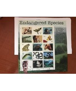 USA United States Endangered Species mnh 1996    stamps - $11.95