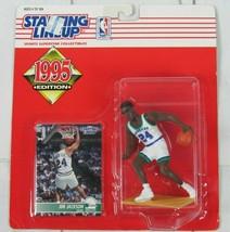 1995 Edition NBA JIM JACKSON Dallas Mavericks Starting Lineup NIP - £3.81 GBP