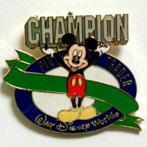 Disney CAST RECOGNITION Mickey Mouse Champion Pin Trader Spring 2001 pin - $14.69