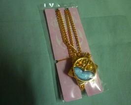 Sailor Moon Crystal Sebon necklace star watch  orange gem orange pearl - $19.98