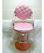 CUTE DOLL Adjustable Beauty Salon Chair-American Girl-Barbie-Blow Dry-St... - $29.95